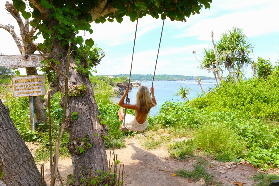 lembongan swing