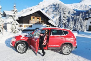 Winter wonderland with SEAT Ateca @Edelweiss hotel Zürs